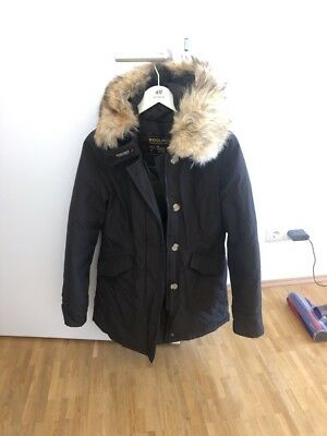 uk availability f5268 33bb8 WOOLRICH ARCTIC PARKA Damen XS 34 braun