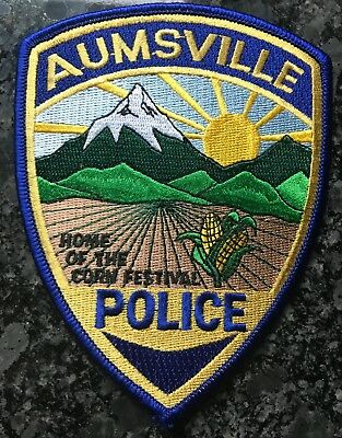 Aumsville OR Police Patch Mountain Corn Fest US BUYER ONLY