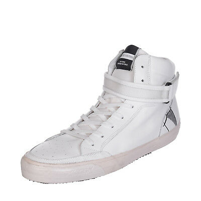 PHILIPPE MODEL Leather High Top Sneakers Size 45 UK 11 Made in Italy RRP €200