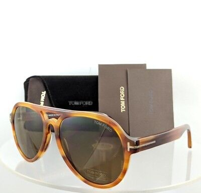 Brand New Authentic Tom Ford Sunglasses Ft Tf 0596 Tf 596 Rory - 02 Tortoise