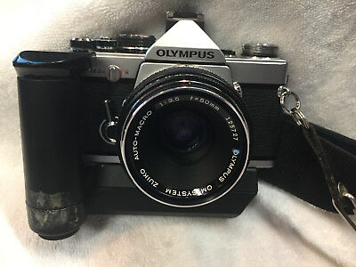 Olympus OM-2N 50mm f1.8 with Zuiko Lens