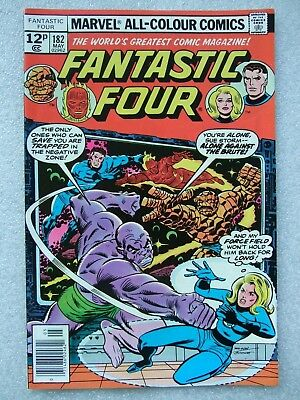 Fantastic Four  #182 (1977) featuring The Brute & The Mad Thinker.  FN