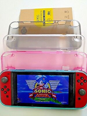 Nintendo Switch Case - Glass Screen Protector