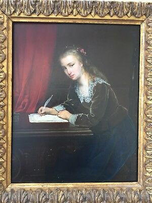 Frans Moormans. Dutch oil painting 19th Century Beautiful Antique