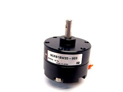 SMC NCRB1BW20-90S [LP] Max Press 100 PSI Air Cylinder Rotary Actuator