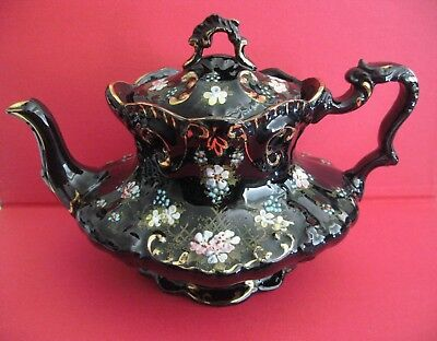 ANTIQUE TEAPOT by SAMUAL JOHNSON DATED - (1887 - 1931)