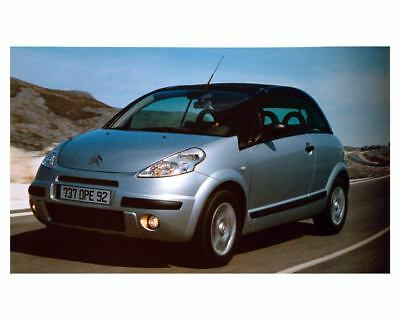 2003 Citroen Pluriel Factory Photo uc7355