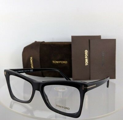 210615748181a Brand New Authentic Tom Ford Eyeglasses FT TF 5457 002 52mm Matte Black  Frame
