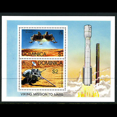 DOMINICA 1976 Space Mission. SG MS 541. Mint Never Hinged. (AX249)