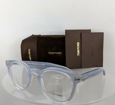 81ca1bca69026 Brand New Authentic Tom Ford Eyeglasses FT TF 5489 020 50mm Grey Clear Frame
