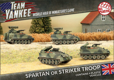 Flames of War: Team Yankee - Spartan/Striker Platoon