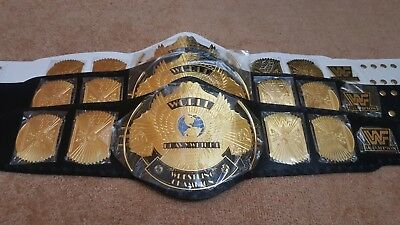 WWF Classic Gold Winged Eagle Championship Belt Adult Size.