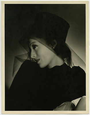 Vintage Luise Rainer 1935 Clarence Sinclair Bull Large Format Rare Photograph