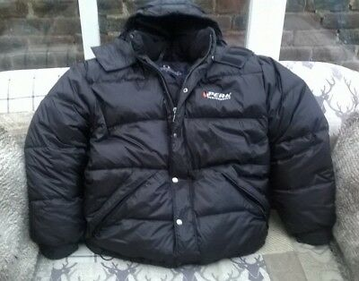Peak Performance Mens Ski Snowboarding Puffer Jacket Size Small Goose Down 6b058e6a9