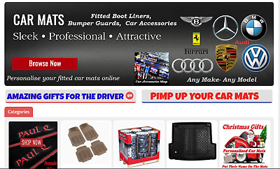Online car accessories Business for sale Established 9 years