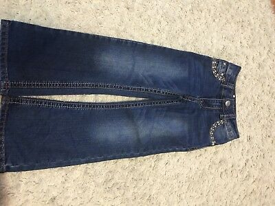 Girls Rodeo Girl Jeans With Bling Size 6