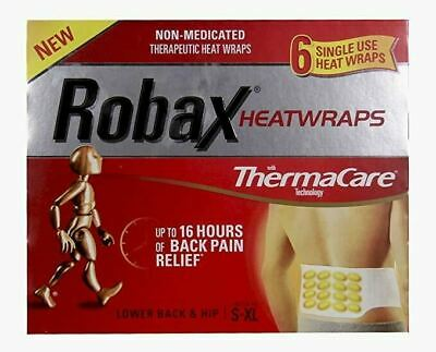 Robax heatwraps Pack of 6 {Imported from Canada}