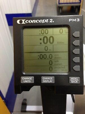 Concept 2 Model PM 3 Rowing Machine