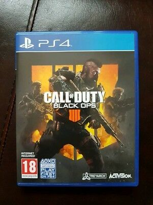 Call Of Duty Black Ops 4 PS4 - NEW - FAST DELIVERY