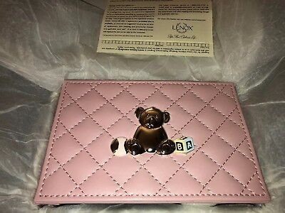Lenox Childhood Memories 4x6 Girl Picture Album (#806818) Pink Leather