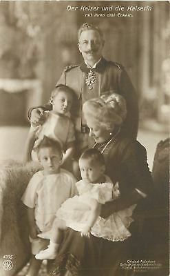 Royalty~German Kaiser Wilhelm II~Empress Augusta Victoria~3 of Grandchildren~RP