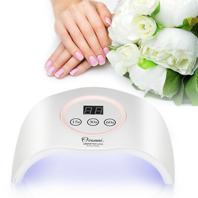 12W Pro LED UV Nail Dryer Gel Polish Lamp Light Curing Manicure Machine 3 Timers