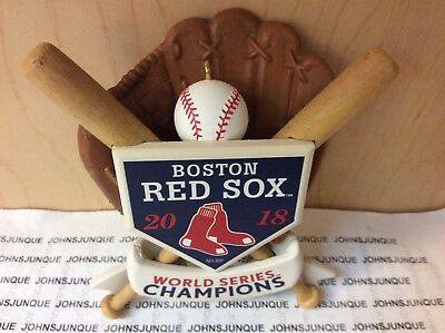 Boston Red Sox World Series Champions Hallmark Ornament 2018 New Ships Now!