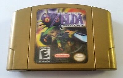 The Legend of Zelda Majora's Mask -Gold Collector's Edition (Nintendo 64)