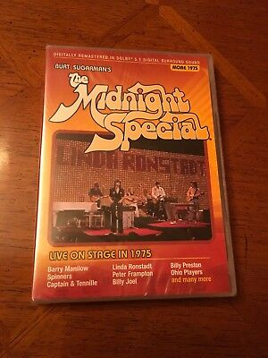 THE MIDNIGHT SPECIAL Live On Stage 1975 NEW Sealed DVD LINDA RONSTADT Frampton