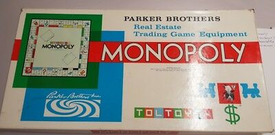 Vintage Parker Bros Monopoly Game Made In Australia Complete Boxed