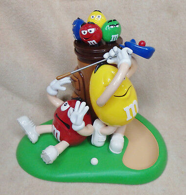 M&M's Mulligan Ville Golf Candy Dispenser with Golf Bag Candy Container