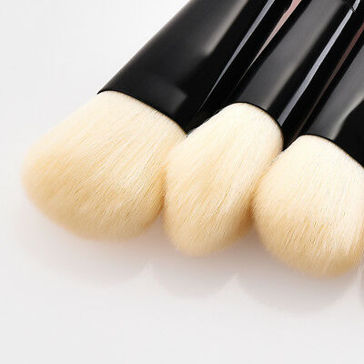 6pcs Cosmetic Brush Set Eyeshadow Powder Foundation Travel Blush Brush Mini Soft