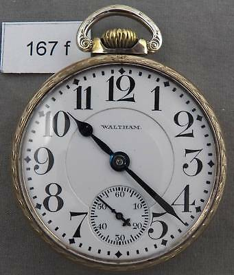 Waltham Vanguard 23 Jewel Railroad Grade Pocket Watch!