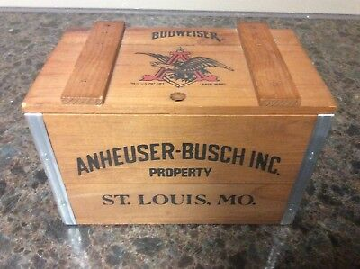 Anheuser-Busch Mini Beer Crate
