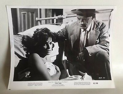 1962 CAPE FEAR Lobby Card Gregory Peck Robert Mitchum BARRIE CHASE COLLECTION