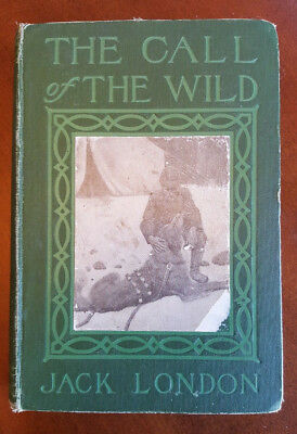 THE CALL OF THE WILD by JACK LONDON 1909 HC, Great condition for its age!