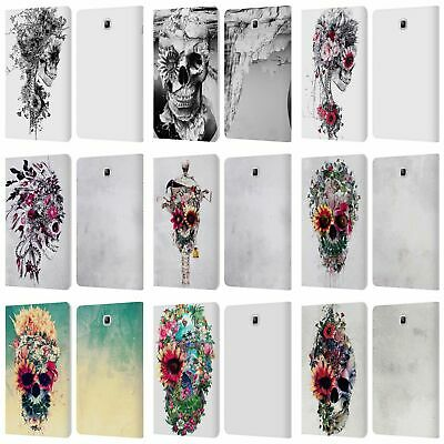 Official Riza Peker Skulls 6 Leather Book Case For Samsung Galaxy Tablets