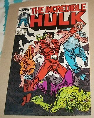 Incredible Hulk #330 VF (1987) 1st Todd Mcfarlane Issue  Hulk Busters Appearance