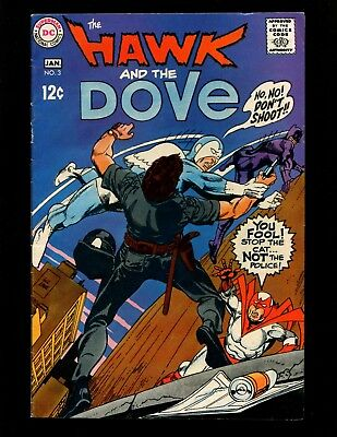 Hawk and the Dove #3 FN Kane Sekowsky 1st The Cat (Burglar)