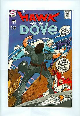 Hawk and the Dove #3 FNVF Kane Sekowsky 1st The Cat (Burglar)