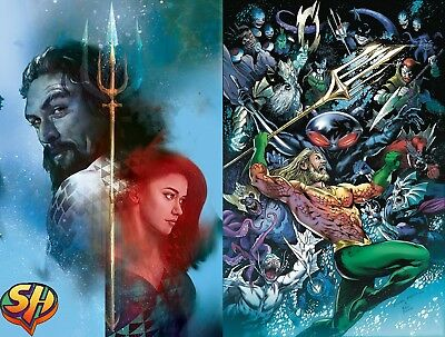 Aquaman 42 Set Cover A with Variant 11/21