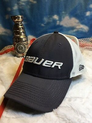 BAUER NEW ERA 39Thirty Mesh Back Cap Multiple Sizes Available ... af1627aa74d0