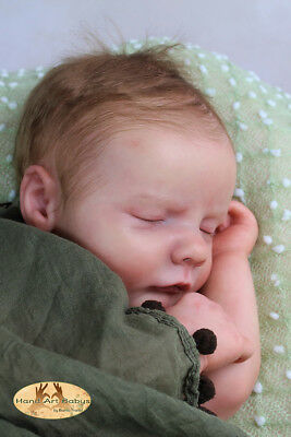 "Reborn Doll Kit ""realborn Reese Asleep"" 20"" (Unpainted)"