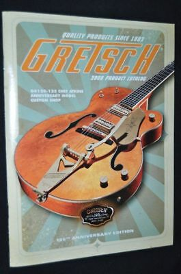 Gretsch 2008 Guitar And Product  Catalog  (Nos)