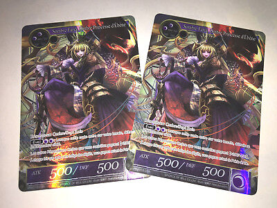 Force of Will : 2 X SOMBRE FARIA, Ombre Princesse d'Ébène - PR2015-035 Francais