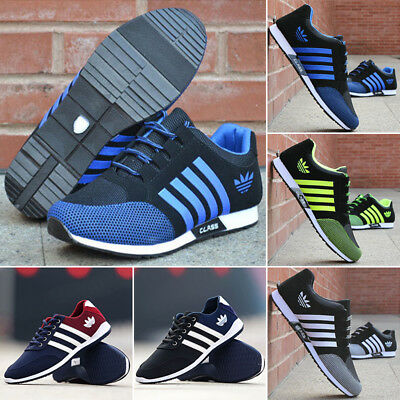 Mens Athletic Running Trainers Gym Fitness sports Shoes Mesh Breathable Sneakers