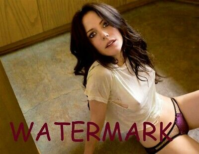 Sexy Hot Actress Mary Louise Parker On The Floor In Panties And T-Shirt Photo