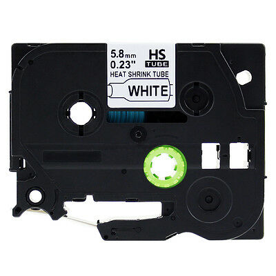 Label Tape Heat Shrink Tube Compatible for Brother P-Touch Label Maker