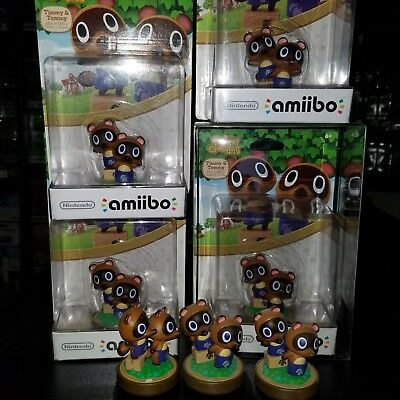 Timmy & Tommy Amiibo Animal Crossing Series New Leaf Nintendo Switch US Version
