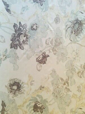 Aquitaine Thalia Fabric. Linen . Curtains. Upholstery. Furnishings.